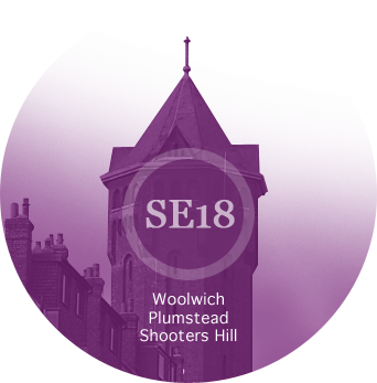 SE18 - Woolwich, Plumstead, Shooters Hill