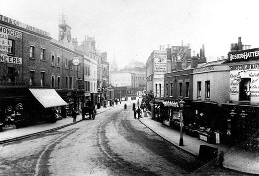 Blackheath Village in 1900